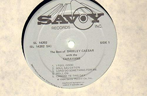 The Best of Shirley Caesar with the Caravans [Vinyl]
