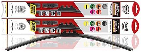 Slk 2004-2010 Heyner Germany Aero Flat Windscreen Wiper Blades Replacement Front Set Model Size 2222