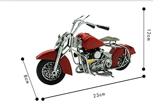 Retro metal motorcycle home accessories living room TV cabinet wine cooler display window props TA122724