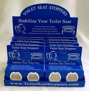 Amazon Com Toilet Seat Stoppers 8 Pack Toilet Seat