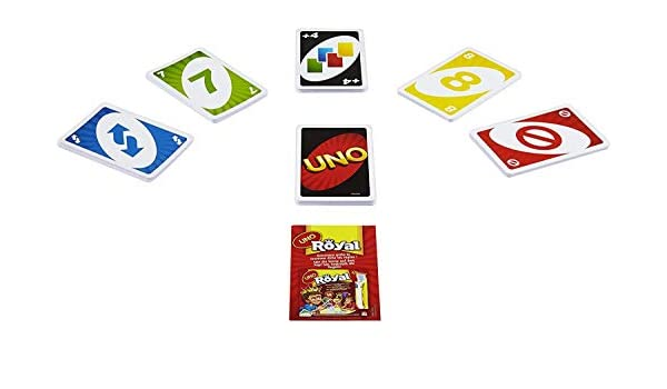 AOOPOO UNO - Juego de cartas y cartas UNO Classique: Amazon.es: Hogar