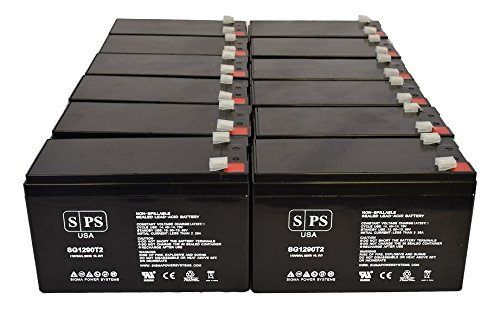 Belkin F6C-500-USB 12V 9Ah UPS Replacement Battery (12 Pack)