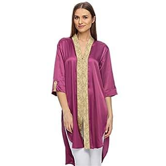 Sana'a Kayum Purple Casual Kurta & Kurtis For Girls