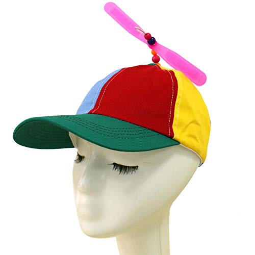 SenseYo Multi-Color Propeller Helicopter Unstructured Baseball Cap