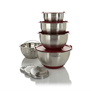 Wolfgang Puck 12 Piece Mixing Bowl Set in Various Colors
