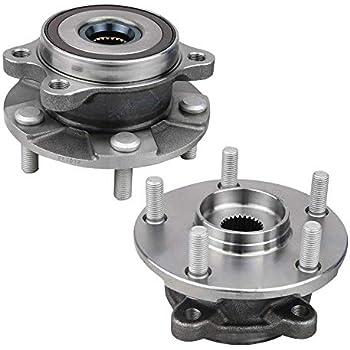 For Toyota Prius 04-09 Set of 2 Front Axle Bearing /& Hub Assy Koyo 43510 47010