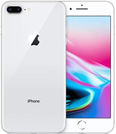 Apple iPhone 8 Plus, Boost Mobile, 64GB - Silver - (Renewed)