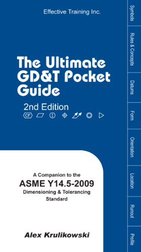Ultimate Gd T Pocket Guide Based On Asme Y14 5 2009 Alex