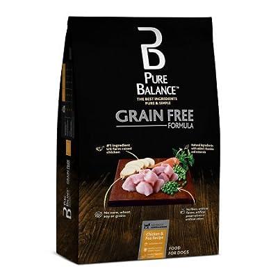 Pure Balance Grain Free Chicken & Pea Recipe Dry Dog Food, 24 lbs