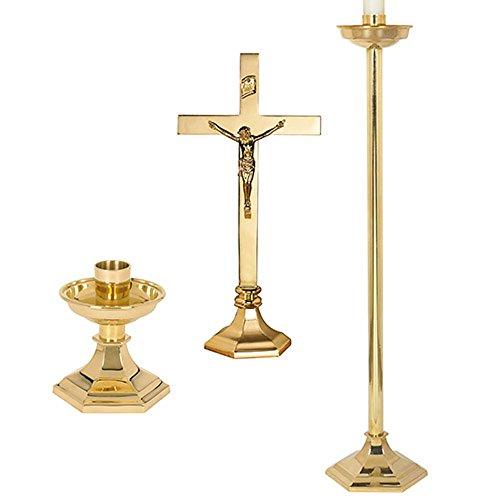 Windsor Altar Appmt Set Of 4 by US Gifts