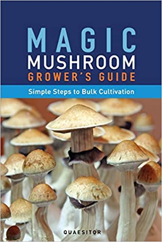 Magic Mushroom Grower's Guide Simple Steps to Bulk