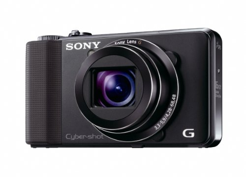 Sony Cyber-shot DSC-HX9V 16.2 MP Exmor R CMOS Digital Still Camera with 16x Optical Zoom G Lens, 3D Sweep Panorama and Full HD 1080/60p - Still Shot Camera Cyber