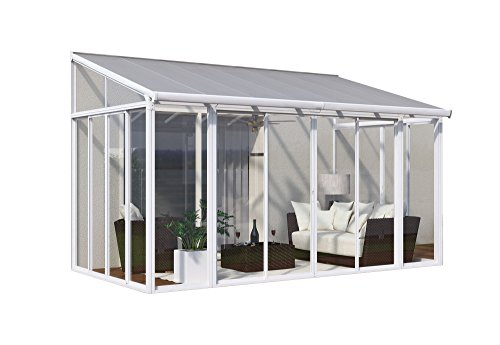 Palram HG9060 Sanremo Patio Cover, 10' x 14', White