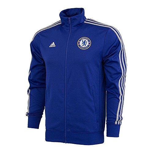 adidas Chelsea FC 3S Track TOP-CHEBLU (XS) (Adidas Chelsea Jacket)