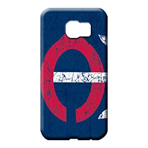 samsung galaxy s6 edge case Super Strong Durable phone Cases phone cases covers minnesota twins mlb baseball