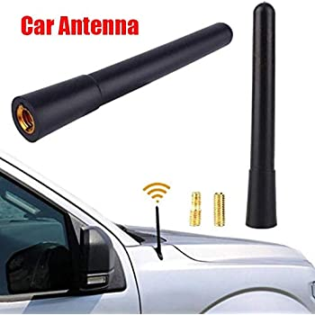 Black 4inch Antenna Aerial Screws On Car Roof Fit For Lexus RX350 RX330 IS300