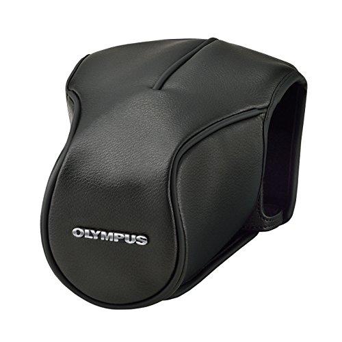 Olympus Black Leather Body Jacket CS-46 FBC for OM-D E-M5 Mark II (Black)