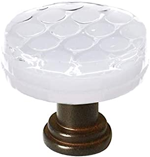 product image for Sietto R-900-ORB Texture 1-1/4 Inch Diameter Mushroom Cabinet Knob