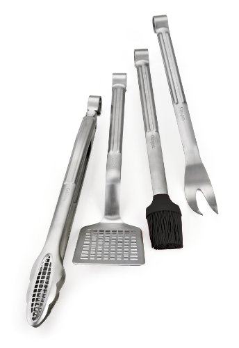 Cuisipro Stainless Steel 4-Piece Barbecue Set (Cuisipro Spatula)