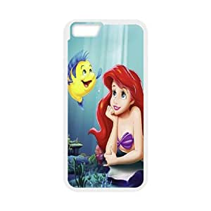 """[MEIYING DIY CASE] For Apple Iphone 6,4.7"""" screen Cases -The Little Mermaid - Ariel-IKAI0447724"""