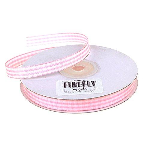 (Homeford FHV0000000003404 Gingham Polyester Ribbon 3/8