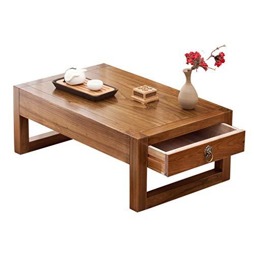 Amazon.com: Mesa de café pequeña mesa auxiliar Elm mesa de ...