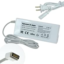 Selectec 60w Ultra-slim AC Adapter Power Supply Charger+US Power Cord for Apple A1181 A1184 A1278 A1330 Macbook Mac Pro 13 [16.5V 3.65A White]