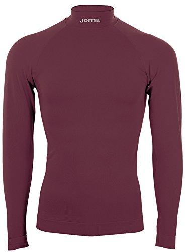 Joma Brama Classic, Camiseta térmica Unisex, Rojo (Burdeos), S/M