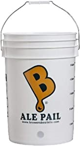 Brewer's Best 6.5 Gallon Bottling Bucket, White