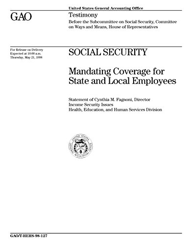 Social Security  Mandating Coverage For State And Local Employees