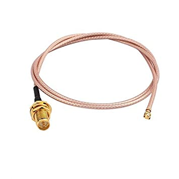 DealMux 5Pcs RG178 solda fio SMA IPEX Vire interior da agulha Antena WiFi Pigtail Cable 50