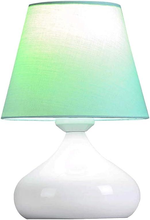 Lámpara de Mesa táctil Pequeña, Dormitorio lámpara de Noche E27 ...