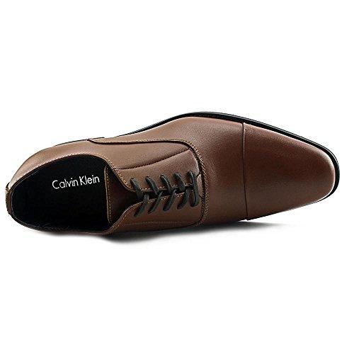 Calvin Klein Mænds Radley Børst Glat Oxford British Tan Læder sbcWivWEg