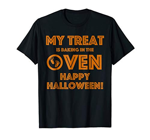 Funny I'm Pregnant Halloween T-Shirt for Mom To