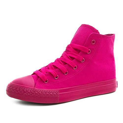 Low Turnschuhe All High Damen Top Unisex Herren Pink Sneaker High Klassische Schuhe xwWIznS