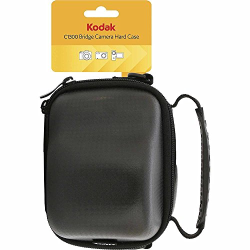 Kodak C1300 Hard Case for Cameras and Camcorders, Black