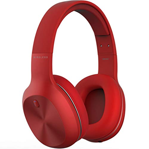 KLSDZSP Binaural Wireless Bluetooth Headset Headset Running Mobile Phone Computer Game Headset Can Answer The Phone 1400mah Long Standby (Color : Red)