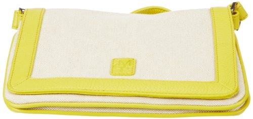 Marc O´Polo Accessories Maryan 50193 35110 302, Damen Clutches 3x17x23 cm (B x H x T) Gelb (Gelb 35110)
