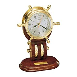 Howard Miller 613-467 Britannia Weather & Maritime Table Clock