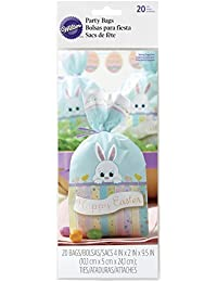 Acquisition 1912-9731 Wilton Easter Bunny Treat Bags, 20-Count occupation