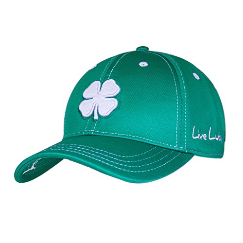 Black Clover Premium 58 Golf Hat, Green, Small/Medium