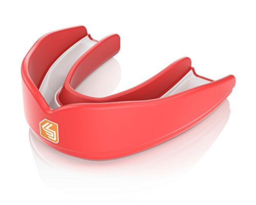 Shock Doctor Ultra Mouth Guard (Shock Doctor Adult Ultra Basketball Flavor Fusion Mouthguard,)