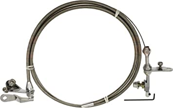 Compatible/Replacement for FORD C-6 TRANSMISSION KICKDOWN CABLE KIT