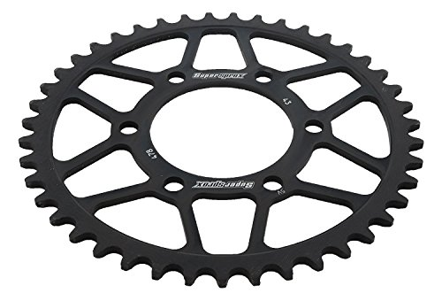 Amazon.com: Supersprox RFE-478-43-BLK Rear Steel Sprocket ...