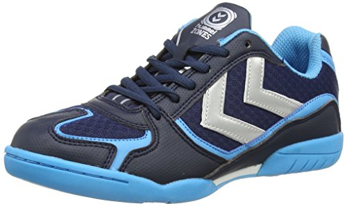 Hummel HUMMEL ROOT - Zapatillas deportivas para interior de material sintético Unisex adulto Azul (Dress Blue 7459)