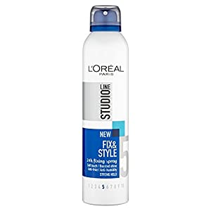 L'Oreal Paris Studio Line 5 Fix and Style 24H Anti Frizz Fixing Spray (250 ml)