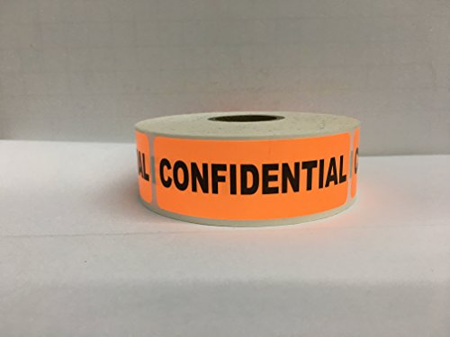 CONFIDENTIAL Handling Instructions Shipping Stickers