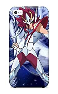 LJF phone case Tpu Case Cover Compatible For iphone 5/5s/ Hot Case/ Saint Seiya Omega 7786669K76707767