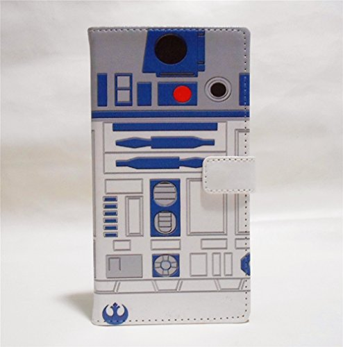 G3 Case, LG G3 Wallet CASE - R2D2 Robot Pattern Premium PU Leather Wallet Case Stand Cover with Card Slots, Cash Compartment for LG G3 - Cool as Great Gift (G3 Wallet Lg Cases Phone With)