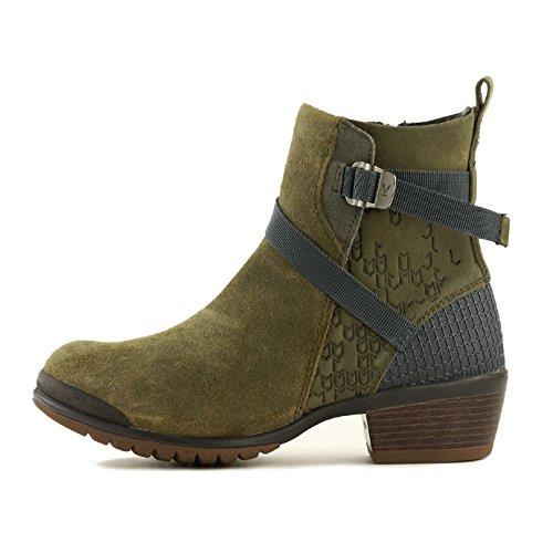 平方縞模様のあたりキーン(KEEN) レディース モリソン ミッド ブーツ 1015055 1015056 1015057 1015459 1807 ショートブーツ